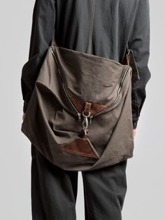 ultimate man bag so cool and sturdy it will do for the bear grylls of school mans fashion gift Lyla & Blu Fashion Bags, Mens Fashion, Brown Dress, Cotton Bag, Gift Bags, Leather Bag, Bag Accessories, Purses And Bags, Bohemian