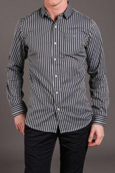 Descendant of Thieves Dressed Stripe L/S Woven