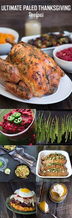 Ultimate Paleo Thanksgiving Recipes   stupideasypaleo.com