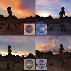 Halo Collection, Winter Mountain, Dusk, Underwater, Chill, Sunrise, Tropical, Urban, Texture