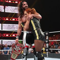 Seth Rollins faces an uphill climb when he defends his Universal Title against Baron Corbin, who chooses Lacey Evans as Special Guest Referee for the championship fight. Wwe Seth Rollins, Seth Freakin Rollins, Baron Corbin, Wwe Pictures, Wwe Photos, Becky Lynch, Female Wrestlers, Wwe Wrestlers, Becky Wwe