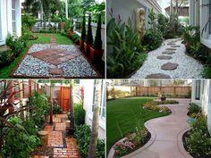 40 Wonderful Stunning Landscape Design Ideas for Your Small Backyard   http://www.designrulz.com/design/2015/01/wonderful-stunning-landscape-design-ideas-small-backyard/