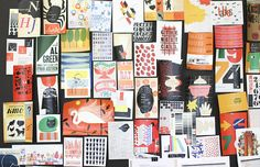 @west elm headquarters and feature on creative director Vanessa Holden // office inspiration // inspiration board //