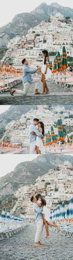 He asked her to marry him in Positano, Italy, and it was the most amazing destination proposal!