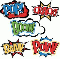 Superhero Words: Miss Kate Cuttables-- SVG cutting files for scrapbooking superhero clipart clip art cute free svg cuts Silhouette Projects, Silhouette Design, Silhouette Cameo, Superhero Silhouette, Silhouette Files, Superhero Clipart, Superhero Superhero, Superhero Classroom, Art And Craft Videos