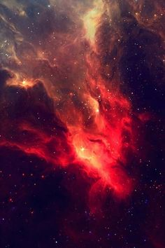 Blood nebulae