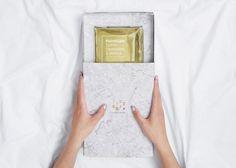 爆米花也可以如此精緻,大理石紋紙袋設計 » ㄇㄞˋ點子