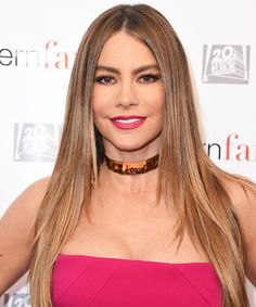 Sofía Vergara Sizzles Poolside in a Tiny, Curve-Hugging Black Bikini from InStyle.com