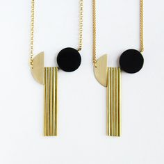 Vasili necklace with gold filled sterling silver or by sewasong