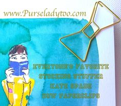 Kate Spade Bow Paperclips