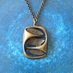 bronze pendant necklace Bronze Pendant, Brutalist, Pendant Necklace, Jewellery, Jewels, Schmuck, Drop Necklace, Jewelry Shop, Jewlery