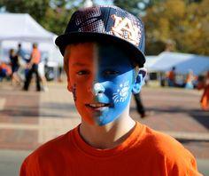 Best Face Paint - NMSU (HC)!  Jacob Raispis