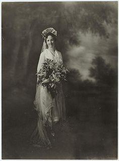Bride, c. 1920.