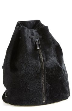 Elizabeth and James 'Cynnie' Genuine Calf Hair Sling Backpack available at #Nordstrom