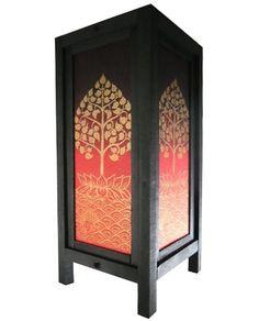 Thai Handmade Asian Oriental Classic Tree Lotus by LannaStyle