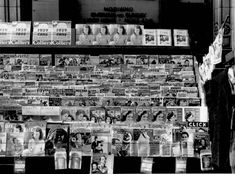 Newsstand in Omaha, Nebraska, Nov. 1938, (Photo credit: John Vachon / Administration Prints and Photographs Division, Library of Congress)
