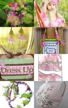 Welcome Fairies and Pirates to Dress up Time --Pinned with TreasuryPin.com