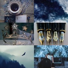 All of time & space , Aesthetic: Ravenclaw