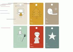 Last-Minute Gift-Wrapping Inspiration Merry Christmas To All, Christmas Holidays, Christmas Cards, Planner Doodles, Free Printable Gift Tags, Free Printables, Nouvel An, Christmas Gift Wrapping, Last Minute Gifts
