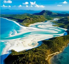 White Haven Beach, Australia 101 Most Beautiful Places To Visit Before You Die! (Part II) Places Around The World, Oh The Places You'll Go, Places To Travel, Beautiful Places To Visit, Beautiful World, Amazing Places, Beautiful Beaches, Amazing Photos, Amazing Things