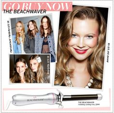 We're obsessed with these effortless waves! {The Beachwaver - Celebrity Style and Fashion via @Who What Wear}