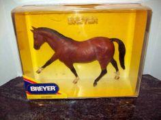 1990 BREYER HORSE BORODINO II HONOVERIAN STALLION #951