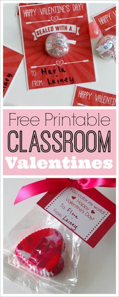 Cute, last-minute printable classroom Valentines for your kids | CatchMyParty.com