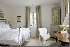 Axel Vervoordt, Timeless Interiors · loi thai white and light gray bedroom