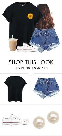 """"""""""" by aweaver-2 on Polyvore featuring Converse and Honora"""