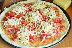 A legfinomabb pizza alaptészta - habkönnyű, pihe-puha, hólyagos Winter Food, Vegetable Pizza, Pie, Vegetables, Torte, Cake, Fruit Cakes, Pies, Vegetable Recipes