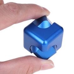 New Aluminum Alloy Fidget Spinner Magic Cube Hand Spinner Whirlwind Square Finger Gyro EDC Decompression Toys