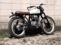 Honda CG125 CRD 4 - featured on Compact Custom Motorcycles