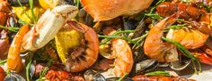 BOULEVARD KITCHEN & OYSTER BAR summer seafood boil