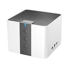Anker Classic Portable Wireless Bluetooth Speaker, Powerful Sound with 20 Hour Battery Life and Built-in Microphone, works with iPhone, iPad, Samsung, Nexus, HTC, Nokia, Laptops, PC and More - White