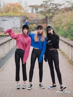 Korean Similar Fashion - Official Korean Fashion Korean Girl Fashion, Korean Street Fashion, Ulzzang Fashion, Korea Fashion, Kpop Fashion, Japanese Fashion, Cute Fashion, Asian Fashion, Fashion Outfits