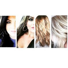 Over the course of a year the transition from black to blondes Blondes, Hair, Color, Black, Black People, Colour, Strengthen Hair, Colors