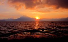 Guatemala   ... , Lago Atitlan Solola, Paisajes de Guatemala wallpaper download