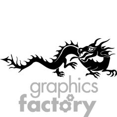 chinese clipart dragons graphicsfactory dragon