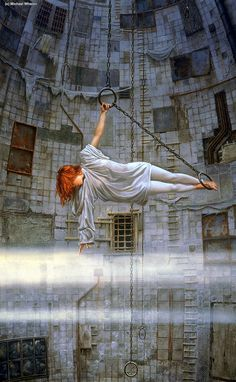 Reminds me of Leo and Madge (art by Michael Whelan, Reach)