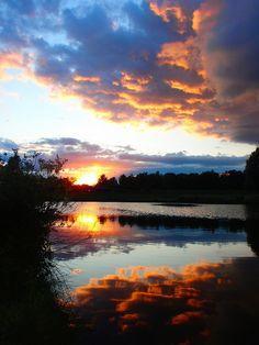 Teardrop Lake, Milton Keynes, England