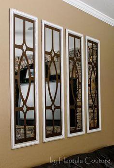 DIY Ballard Designs Garden District Mirrors - Mine for the Making