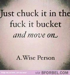 ...and move on.
