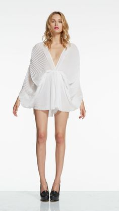 The Oceanography Playsuit White - alice McCALL $150