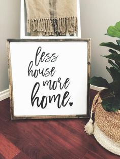 Home Sign | Home Quotes | Living Room Decor | Living Room Wall Art | Fixer Upper Style | Joanna Gaines | Farmhouse Style | Farmhouse Decor | Modern Farmhouse | Rustic Decor | Bedroom Decor | Wood Sign | Wall Decor | Bedroom Ideas | Living Room Ideas