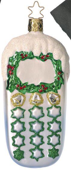 Inge Glas 2006#Christbaumschmuck#aus dem Hause Inge Glas.Weihnachtsbaumschmuck made in Germany mundgeblasen und von Hand bemalt bei www.gartenschaetze-online.de