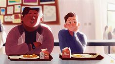 ArtStation - Peter Parker and Ned Leeds, Gop Gap