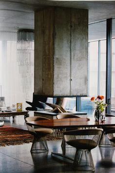 Christian Boros and Karen Lohmann's Berlin Apartment Elle decoration