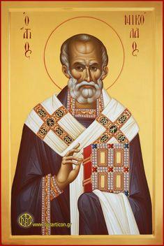 Portable Icons - Saints Orthodox Catholic, Orthodox Christianity, Byzantine Icons, Byzantine Art, Religion, Art Carved, Saint Nicholas, Old Fashioned Christmas, Orthodox Icons