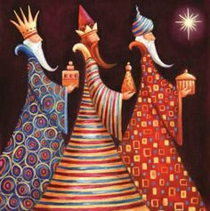 christmas card ideas: We Three Kings Reyes Magos Rois Mages Christmas Nativity, Christmas Images, Christmas Art, All Things Christmas, Winter Christmas, Vintage Christmas, Christmas Decorations, Christmas Ornaments, Hallmark Christmas