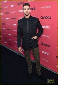 James Maslow: 'Cleaners' & 'Sequestered' Premiere!